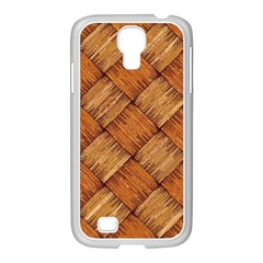 Vector Square Texture Pattern Samsung Galaxy S4 I9500/ I9505 Case (white) by Amaryn4rt