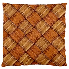 Vector Square Texture Pattern Large Flano Cushion Case (two Sides) by Amaryn4rt