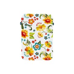 Flower Floral Rose Sunflower Leaf Color Apple Ipad Mini Protective Soft Cases by Alisyart