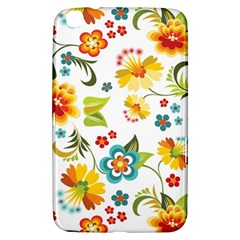 Flower Floral Rose Sunflower Leaf Color Samsung Galaxy Tab 3 (8 ) T3100 Hardshell Case  by Alisyart