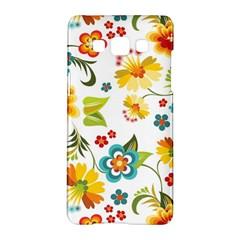Flower Floral Rose Sunflower Leaf Color Samsung Galaxy A5 Hardshell Case  by Alisyart