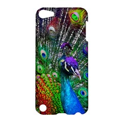 3d Peacock Pattern Apple Ipod Touch 5 Hardshell Case by Amaryn4rt