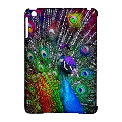 3d Peacock Pattern Apple Ipad Mini Hardshell Case (compatible With Smart Cover) by Amaryn4rt