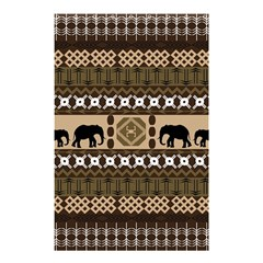 African Vector Patterns  Shower Curtain 48  X 72  (small)  by Amaryn4rt