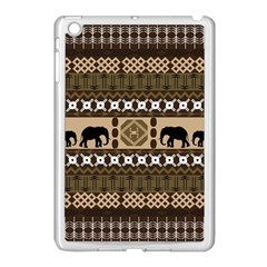 African Vector Patterns  Apple Ipad Mini Case (white) by Amaryn4rt