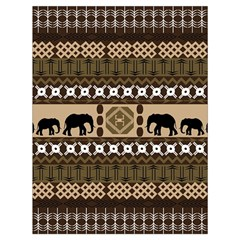 African Vector Patterns  Drawstring Bag (large) by Amaryn4rt