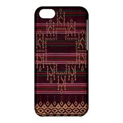 Ulos Suji Traditional Art Pattern Apple Iphone 5c Hardshell Case by Amaryn4rt