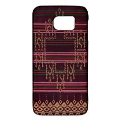 Ulos Suji Traditional Art Pattern Galaxy S6 by Amaryn4rt