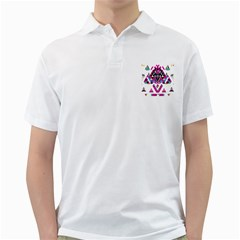 Geometric Play Golf Shirts by Amaryn4rt