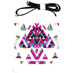Geometric Play Shoulder Sling Bags by Amaryn4rt