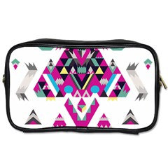 Geometric Play Toiletries Bags by Amaryn4rt