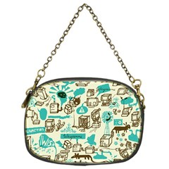 Telegramme Chain Purses (one Side)  by Amaryn4rt