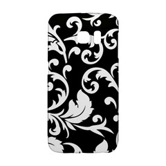 Vector Classical Traditional Black And White Floral Patterns Galaxy S6 Edge by Amaryn4rt
