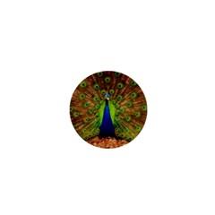 3d Peacock Bird 1  Mini Magnets