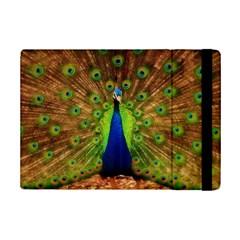 3d Peacock Bird Ipad Mini 2 Flip Cases by Amaryn4rt
