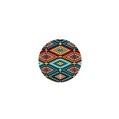 African Tribal Patterns 1  Mini Buttons by Amaryn4rt