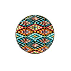 African Tribal Patterns Hat Clip Ball Marker (4 Pack) by Amaryn4rt