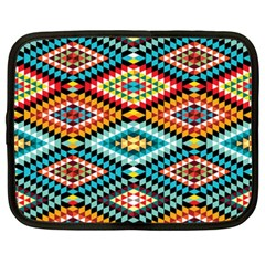 African Tribal Patterns Netbook Case (xxl)  by Amaryn4rt
