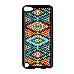 African Tribal Patterns Apple Ipod Touch 5 Case (black) by Amaryn4rt