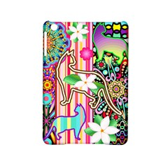 Mandalas, Cats And Flowers Fantasy Digital Patchwork Ipad Mini 2 Hardshell Cases by BluedarkArt