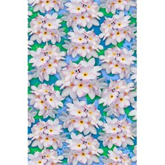 Plumeria Bouquet Exotic Summer Pattern  5 5  X 8 5  Notebooks by BluedarkArt