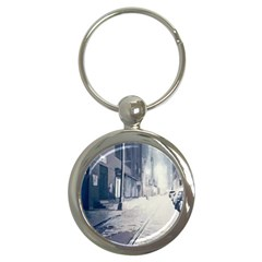 Lewis Terman s Termite Portal Gifted Streets Key Chain (Round) by lynngrayson