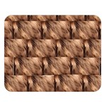 Snuggly Brown Fur Double Sided Flano Blanket (Large)