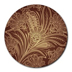 Beautiful Patterns Vector Round Mousepads
