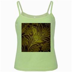 Beautiful Patterns Vector Green Spaghetti Tank by Amaryn4rt