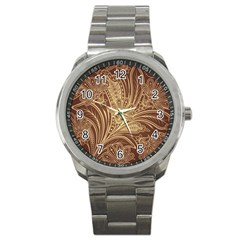 Beautiful Patterns Vector Sport Metal Watch by Amaryn4rt