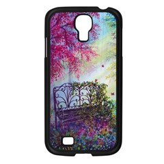 Bench In Spring Forest Samsung Galaxy S4 I9500/ I9505 Case (black)