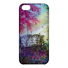 Bench In Spring Forest Apple Iphone 5c Hardshell Case