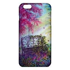 Bench In Spring Forest Iphone 6 Plus/6s Plus Tpu Case by Amaryn4rt