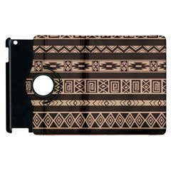 Ethnic Pattern Vector Apple Ipad 2 Flip 360 Case by Amaryn4rt