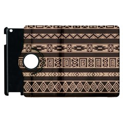 Ethnic Pattern Vector Apple Ipad 3/4 Flip 360 Case by Amaryn4rt