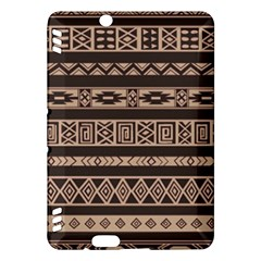 Ethnic Pattern Vector Kindle Fire Hdx Hardshell Case by Amaryn4rt