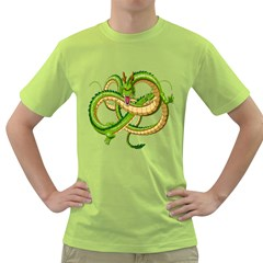 Dragon Snake Green T Shirt