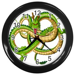 Dragon Snake Wall Clocks (black) by Amaryn4rt