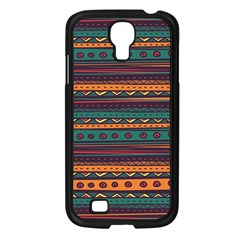Ethnic Style Tribal Patterns Graphics Vector Samsung Galaxy S4 I9500/ I9505 Case (black)