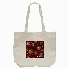 India Traditional Fabric Tote Bag (cream) by Amaryn4rt