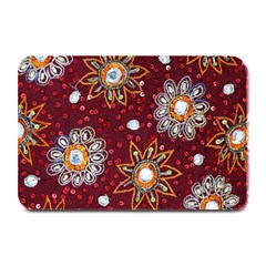 India Traditional Fabric Plate Mats by Amaryn4rt