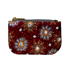 India Traditional Fabric Mini Coin Purses by Amaryn4rt