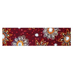India Traditional Fabric Satin Scarf (oblong) by Amaryn4rt