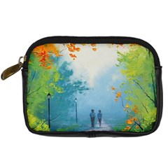 Park Nature Painting Digital Camera Cases by Amaryn4rt