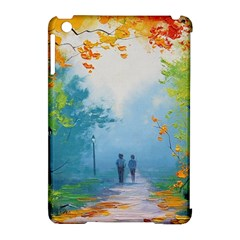 Park Nature Painting Apple Ipad Mini Hardshell Case (compatible With Smart Cover) by Amaryn4rt