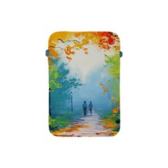 Park Nature Painting Apple Ipad Mini Protective Soft Cases by Amaryn4rt
