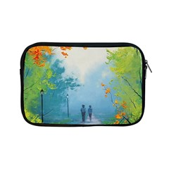 Park Nature Painting Apple Ipad Mini Zipper Cases by Amaryn4rt