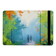 Park Nature Painting Samsung Galaxy Tab Pro 10 1  Flip Case by Amaryn4rt