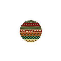 Mexican Folk Art Patterns 1  Mini Buttons by Amaryn4rt