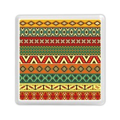 Mexican Folk Art Patterns Memory Card Reader (square)